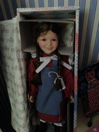 Little House on the Prairie doll