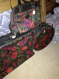 Matching luggage