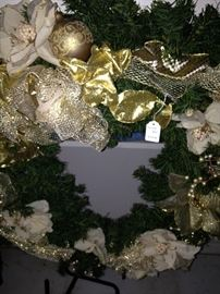 One of several wreaths