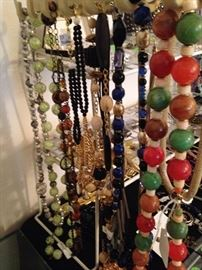 Lots of necklaces