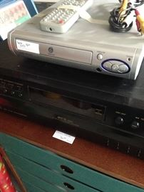 JVC tape player