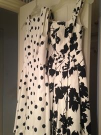 """""""Claude Rene"""" exclusively for Saks Fifth Avenue and  """"Rickie Freeman"""" for Teri Jon summer dresses"""