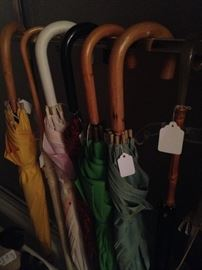 Some of the umbrellas