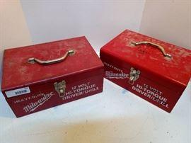 Metal Milwaukee Boxes
