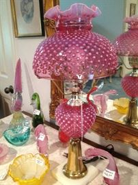 FENTON LAMP