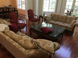 "Century Furniture couches  98"" long by 42"" deep by 36"" high"