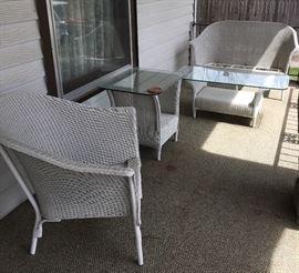 Lloyd Loom Wicker Outdoor Furniture