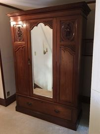 Imported (from England) Armoire {ca. 1900's-1910's}