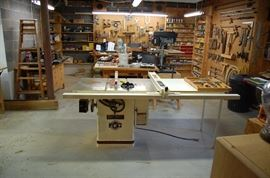 "Jet 10"" Tilting Arbor Saw-Table Saw-Model JTAS-10x, Professional Table Saw"
