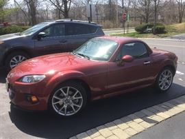 2013 Mazda Miata in show room condition under 10,000 miles