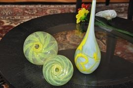 More gorgeous hand blown glass decor!
