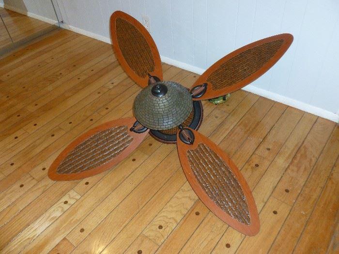 Unique ceiling fan