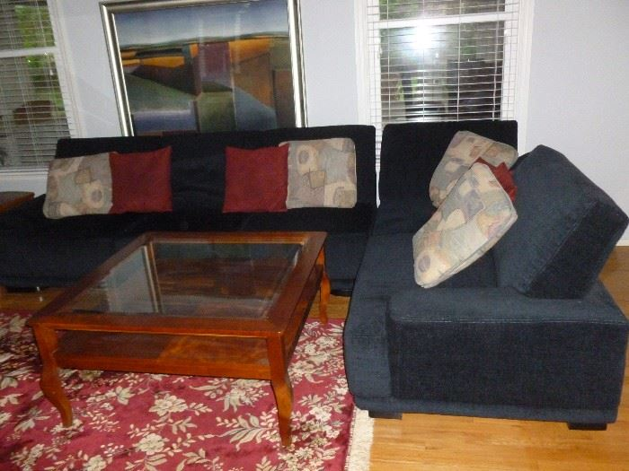 New, never used Italian Sectional w/Chaise