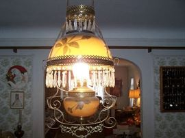 VICTORIAN HANGING LAMP
