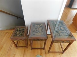 Far Eastern Furnishings Asian nesting tables