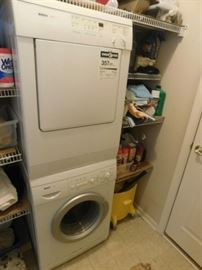 2010 Bosch  AXXIS  stackable washer and dryer, dryer needs a new sensor for the door model # wta3510uc