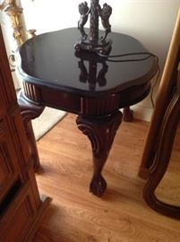 Wood End Table - $ 70.00