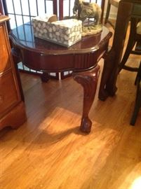 Wood End Table $ 70.00