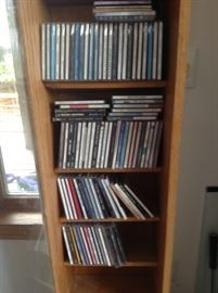Lots of CD's, DVD's and Vinyl Records !!