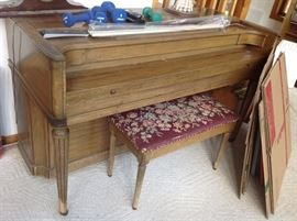 Piano with bench $ 250.00 - Delivery options available for a fee - call to discuss.