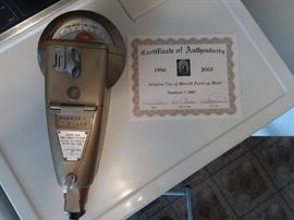 Vintage DUNCAN-MILLER working Parking Meter from Merrill, WI