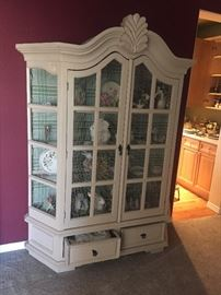 WIRE CHINA CABINET
