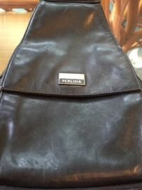 Perlina leather backpack - purse