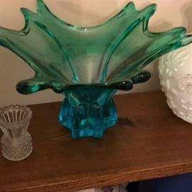 Great mid century art glass.