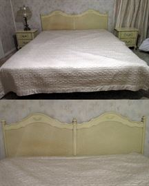 French Provincial: Broyhill set with 1 king bed
