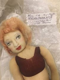 Antique Stockinette doll