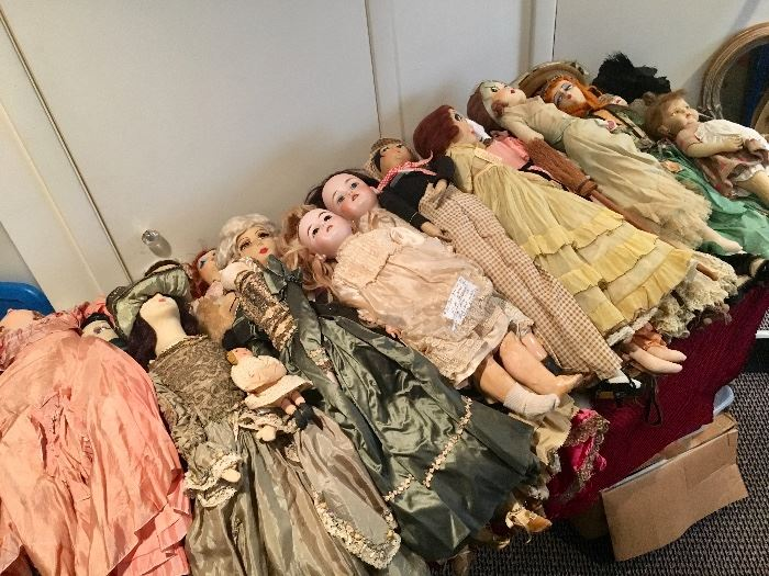 Here are some of the dolls!