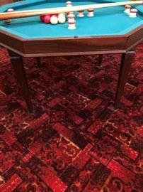Vintage Poker/Billiard Table