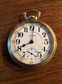1924 Illinois Railroad Pocket Watch