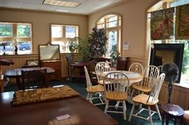 Furniture Room with some great bargains....don't miss this room.   Delivery available at a nominal cost