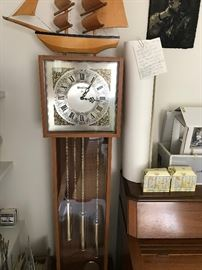 MODERN GRANDFATHER CLOCK