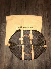 AUTHENTIC LOUIS VUITTON KEEPALL 50-LIKE NEW!