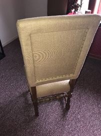 RESTORATION HARDWARE-FRENCH BURLAP CHAIRS-2 AVAILABLE