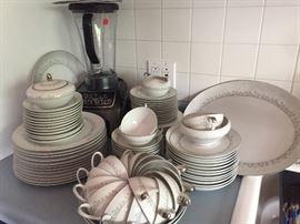 Set of Mikasa Fine China JAPAN Pattern Kelton 8232 Dishes