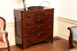 Federal chest of drawers.