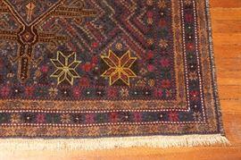 Detail of rug.