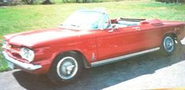 1963 Corvair Spyder convertible, turbo, 66,000+ miles