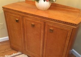 Sideboard opens to bar
