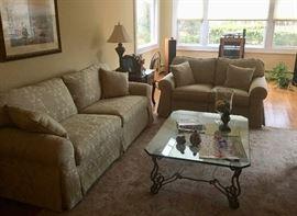 Living room sofas & tables