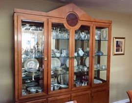 China cabinet & collectibles