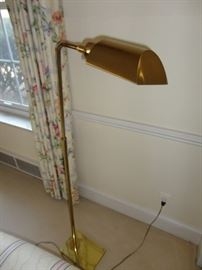 BRASS FLOOR LAMP 2 FOR SALE