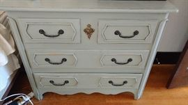 Pair of British Traditions chests of drawers in a beautiful blue
