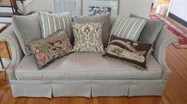 "Haverty's sofa-91"" long"