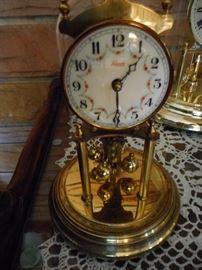 Anniversary Clock, Porcelain Face