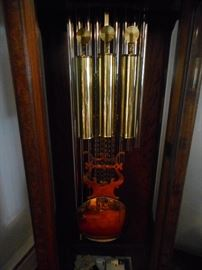 9 Tube Brass Weights, Brass Pendulum