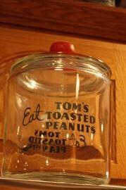 Vintage Toms Peanut Jar